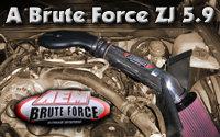 AEM BruteForce 5.9L ZJ Intake