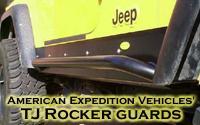 AEV (ARB) TJ rocker guards