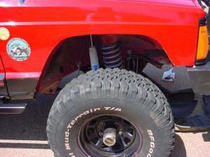 Jeepin Com 187 Bushwacker S Xj Cut Out Flares