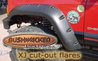Bushwacker's XJ Cut-Out Flares