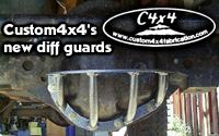 Custom4x4Fabrication differential guards
