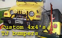 Custom4x4Fabrication's TJ bumpers