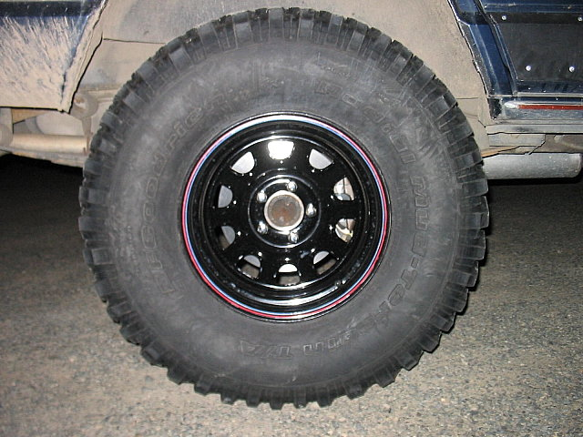 Jeepin com » Crown Vic discs for your XJ D44
