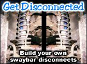 Build your own swaybar quick disconnects