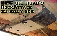 DPG OffRoad's RockAttack XJ belly skidplate