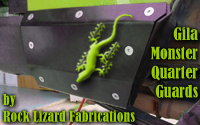 Rock Lizard Fabrications' Gila Monster Quarter Guards
