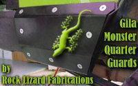 Rock Lizard Fabrications' Gila Monster Quarter Guards