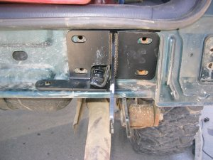 Hanson XJ Rear Bumper and Tire Carrier