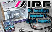 ipf h4 headlight upgrade and arb wiring harness