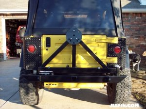 Jeeperman Jeep TJ Swingaway
