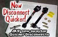JKS Quicker Disconnects