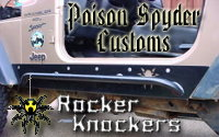 Poison Spyder Customs' TJ RockerKnockers