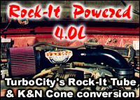 TurboCity's Rock-It Tube and K&N Conversion