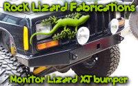 Rock Lizard Fabrications' Monitor Lizard XJ bumper