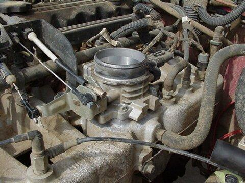 Jeepin Com 187 Poweraid Throttle Body Spacer