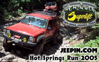Jeepin.com Hot Springs Run 2005