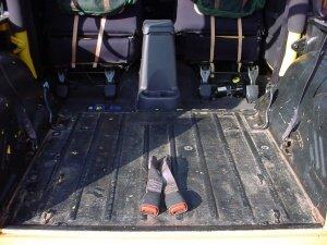 Jeepincom TwinSeats split folding rear TJ seats