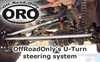 OffRoadOnly's U-Turn Crossover Steering System