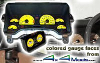 4x4mods.com colored gauge overlay kit