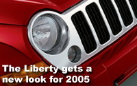 New 2005 Jeep Liberty Stands Apart