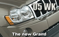 All-New 2005 Jeep® Grand Cherokee: The Next Generation