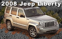 2008 Jeep Liberty – All-new From the Ground Up