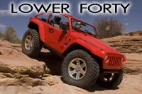 "Mopar Underground Jeep ""Lower Forty"""