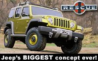 Jeep Rescue Concept – Unequalled, Unmatched, Ultimate Ability