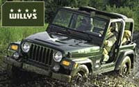 Jeep introduces the 2004 Jeep Wrangler WILLYS
