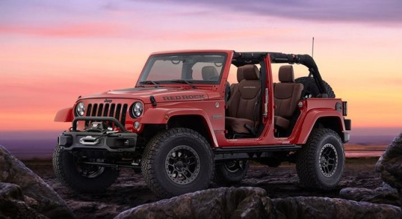 Jeep® and Mopar Introduce Wrangler Red Rock Concept at SEMA Show