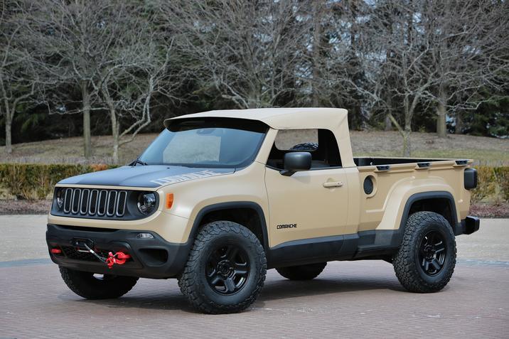 EJS 2016 Concept: Jeep Comanche