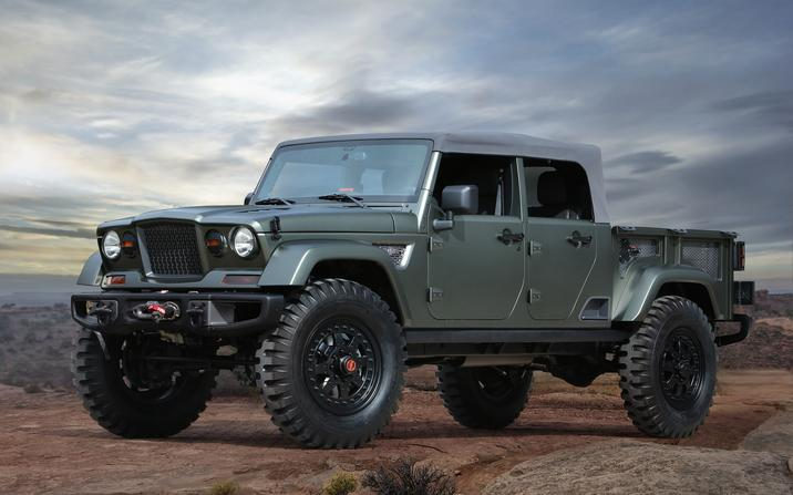 Jeep® and Mopar Unveil Seven Concept Vehicles Built for 50th Annual Easter Jeep Safari