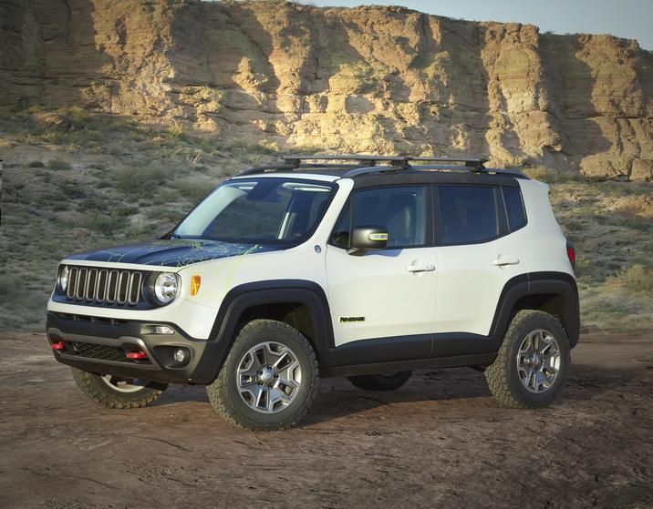 EJS 2016 Concept: Jeep Renegade Commander