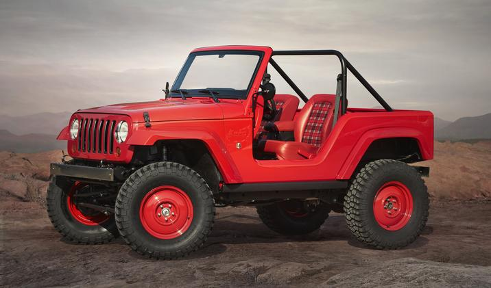 EJS 2016 Concept: Jeep Shortcut