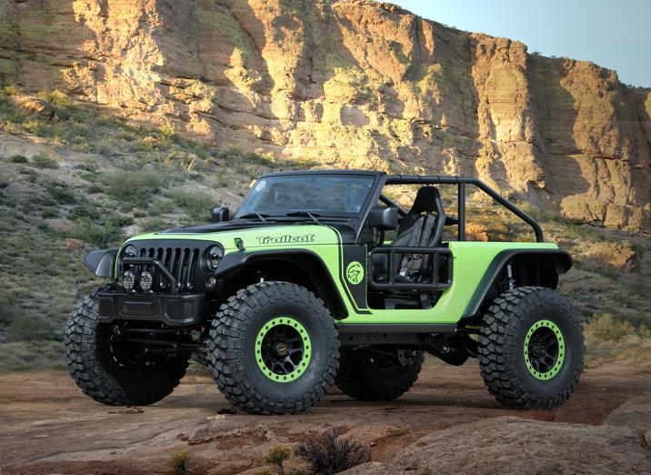 EJS 2016 Concept: Jeep Trailcat