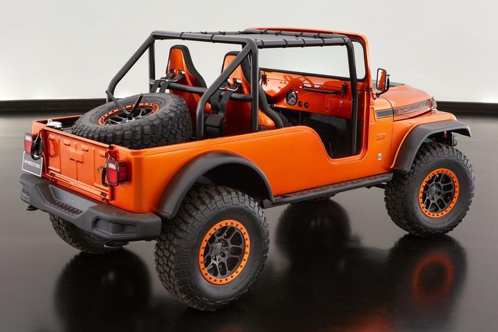 Jeep CJ66 SEMA Concept