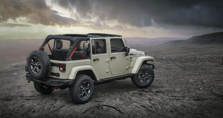 Jeep Wrangler Recon Edition